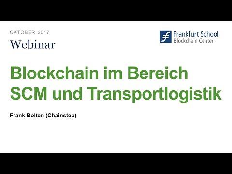 Blockchain im Bereich SCM und Transportlogistik
