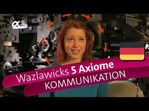 Paul Watzlawicks 5 Axiome - Kommunikation | alpha Lernen erklärt Deutsch