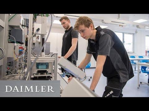 Daimler macht Auszubildende fit für Digitalisierung