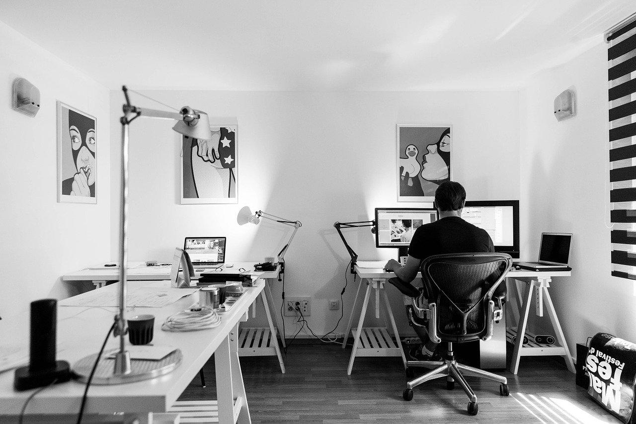 Ereignishorizont Digitalisierung - Home Office